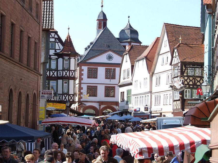 Fr hlingsfest in lohr am main for Heimbach lohr am main