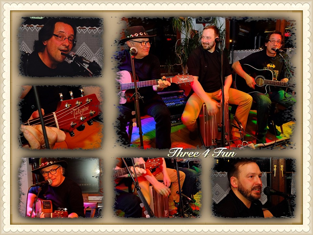 Three4Fun in Concert im Blues Corner in Lohr a. Main