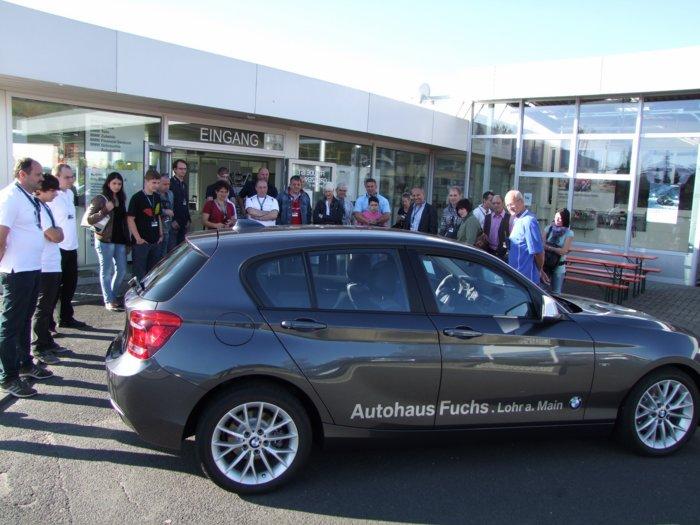 bmw 1er test drive 2011 in lohr a. main